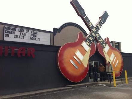 Motor City Guitar--Detroit, MI