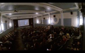Full house at The Art Theatre Co-op--Champaign, IL